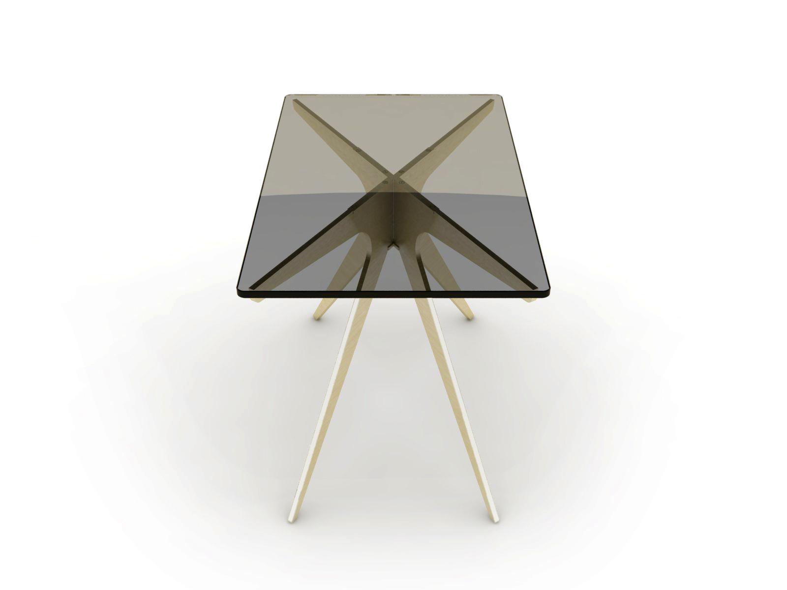 DEAN Rectangular Side Table - Brass: Smoked 2.jpg