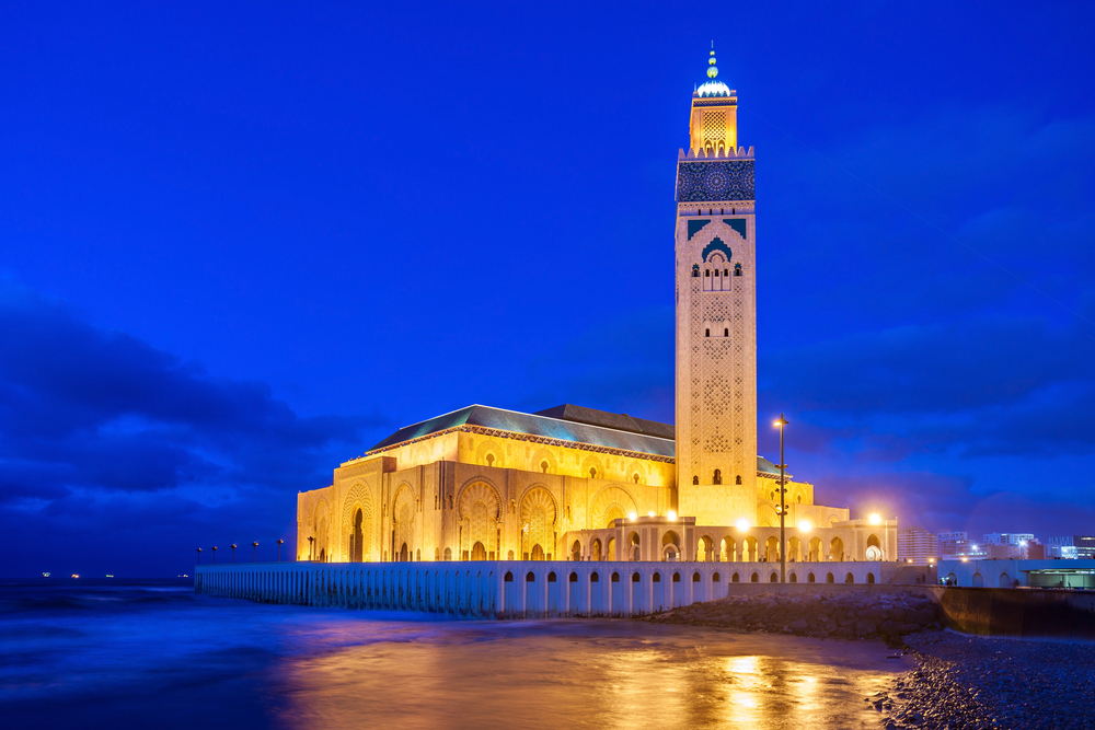 day 2 - October 19th, 2020Morocco - Tour BeginsYour journey begins in Casablanca. This evening, take in the aromas of coriander, allspice and ginger as you join your fellow travellers for a traditional Moroccan dinner. (D)