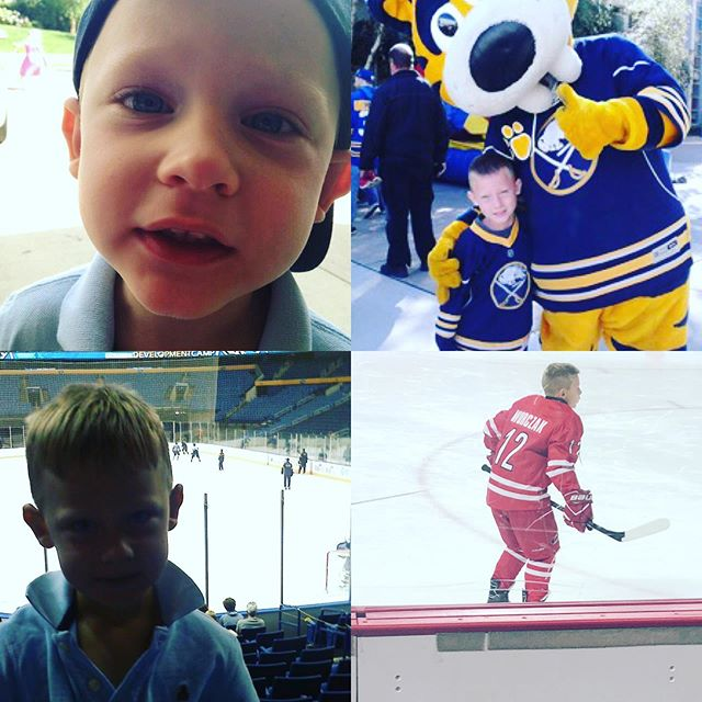 I was waiting for the official email from the coaches to share the news, but yesterday Evan was asked to join the Jr. Hurricanes AA Major team for the 2019-2020 season. He will play under Coach Kimball.  We had another team merge at the end of last season and now we are all one big team. The talent they brought over was very evident over the weekend. It was a team we found very tough to beat all last season.  It's crazy how much hockey has changed in the South since Evan started playing. The competition keeps getting better and the kids keep multiplying! More northerners move to our area and they bring amazing talent with them.  Evan played well this weekend and earned his place on the team. His lacrosse 🥍 training definitely helped his speed on the ice.  We are so proud of him and his effort and the look on his face after Coach told him he'd be on his team again this year was priceless.  We learned that we will be traveling more north this year (Boston 2-3 times and PA at least once) we are so thankful for your partnership in this. We couldn't do it without your support.  If you haven't had a chance to show your support, it's NEVER to late. The elite team comes with some hefty fees and travel expenses. Every little amount goes a LONG way. We are finalizing the auction that will begin this week on Facebook! Please keep an 👁 out for the dates so you don't miss out on some amazing items we have. Those of you who donated to our auction, THANK YOU. Congrats Evan! You make us so proud. xoxo