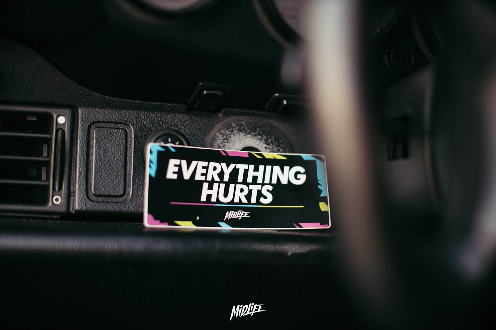 EVERYTHING HURTS STICKERS