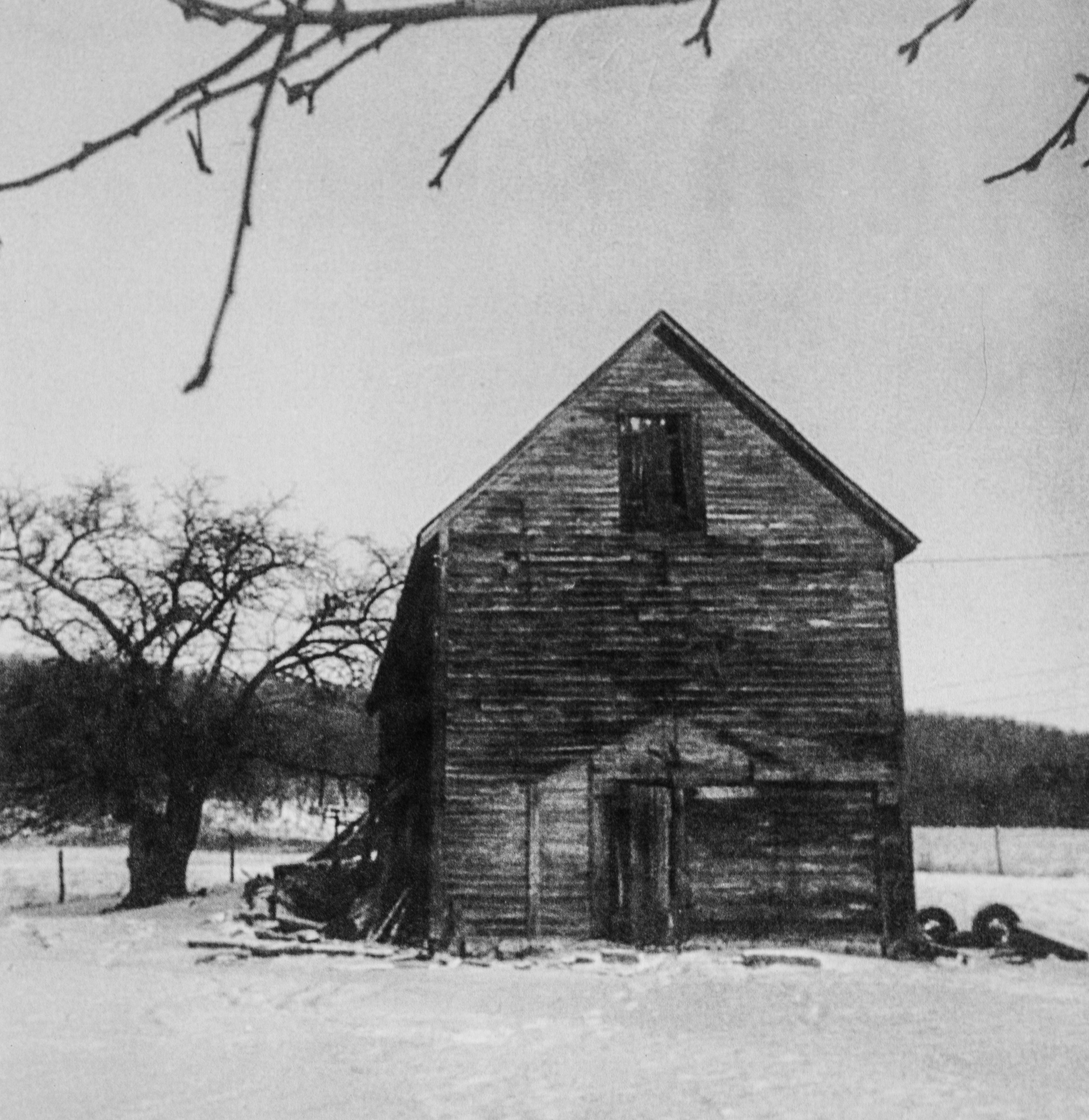 Oldest apple storage - built in 1880s.