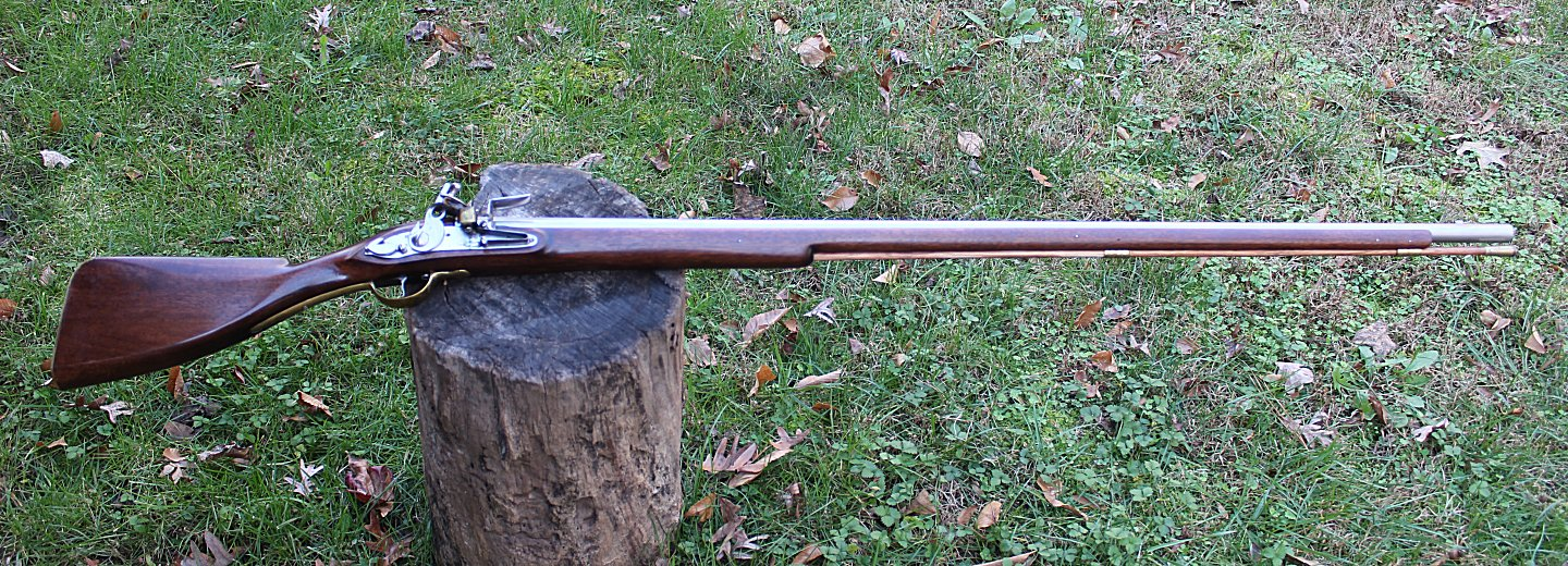 Restored Queen Anne's musket, same style of weapon used in the murder of Abel.