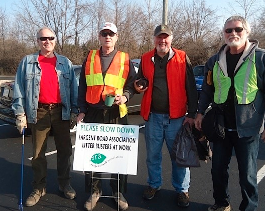 Litter Busters keep the Mud Creek Valley beautiful!