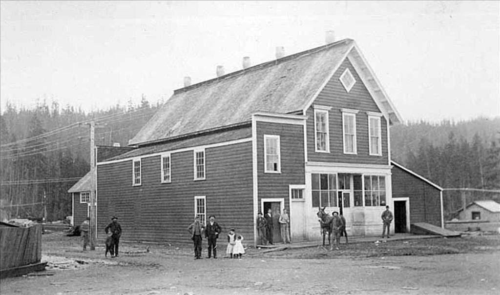 company store, 1890's