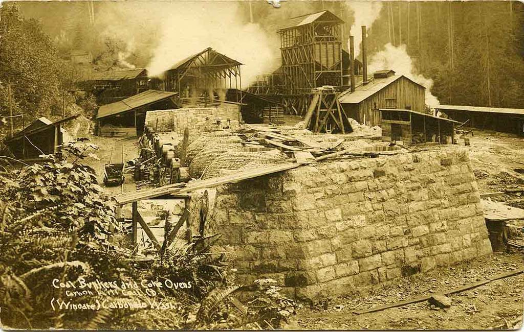 Coal bunkers and coking ovens, 1912