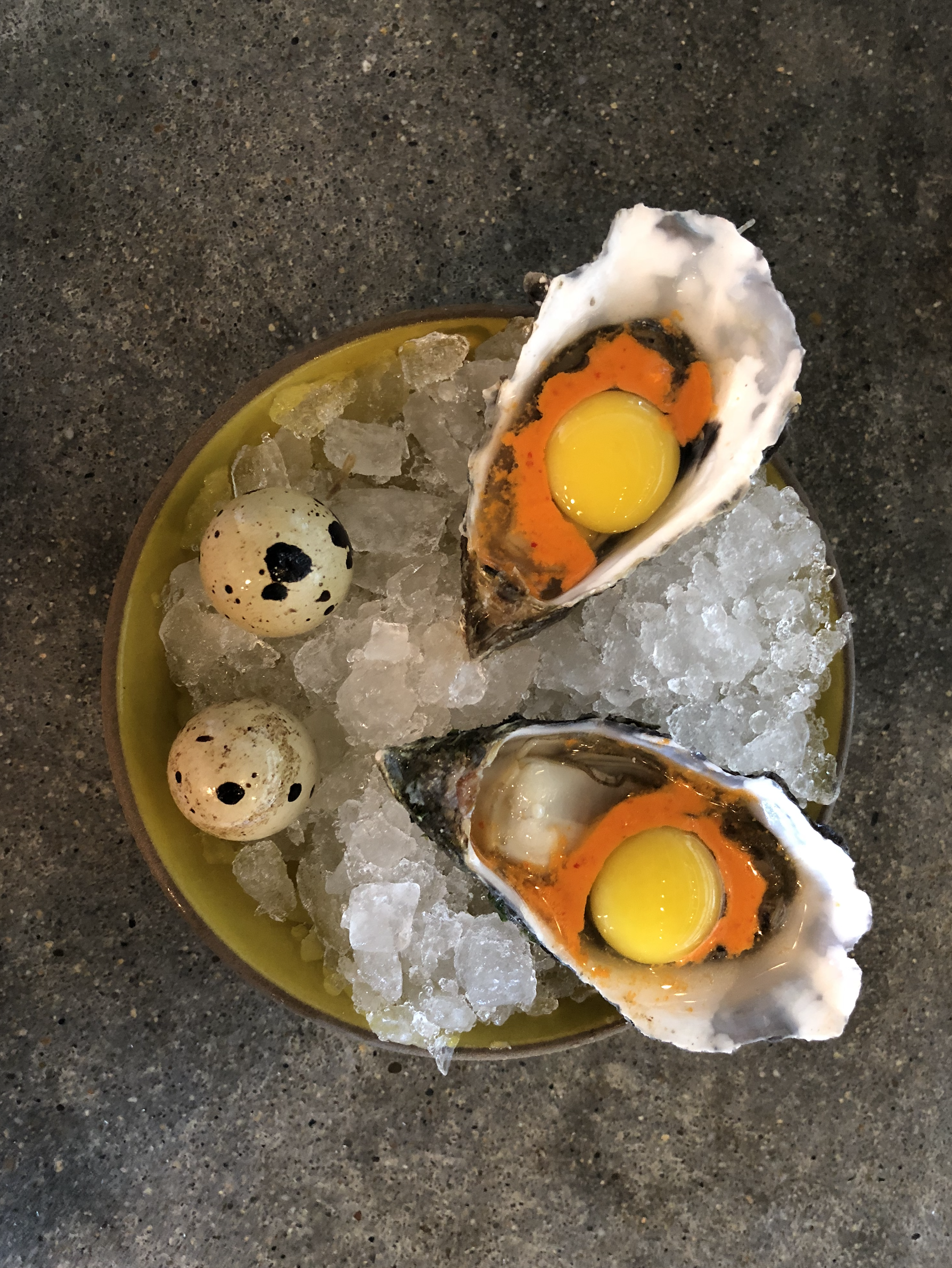 Here's a tip: - Grab a bar seat at the sustainable Hogg Island Oyster restaurant at The Embarcadero, and skip the long line queuing for a table.