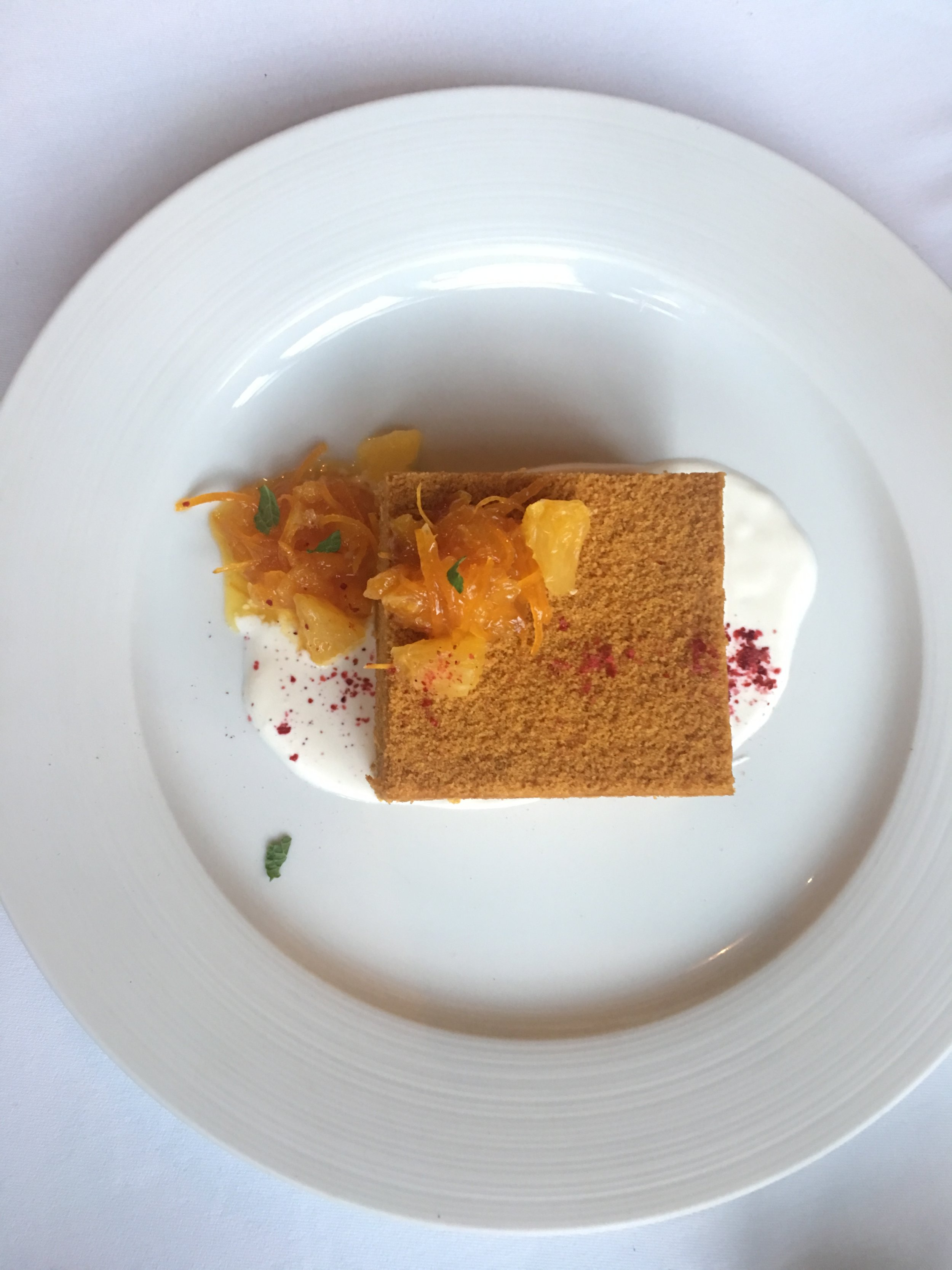 A Russian honey cake - медовик