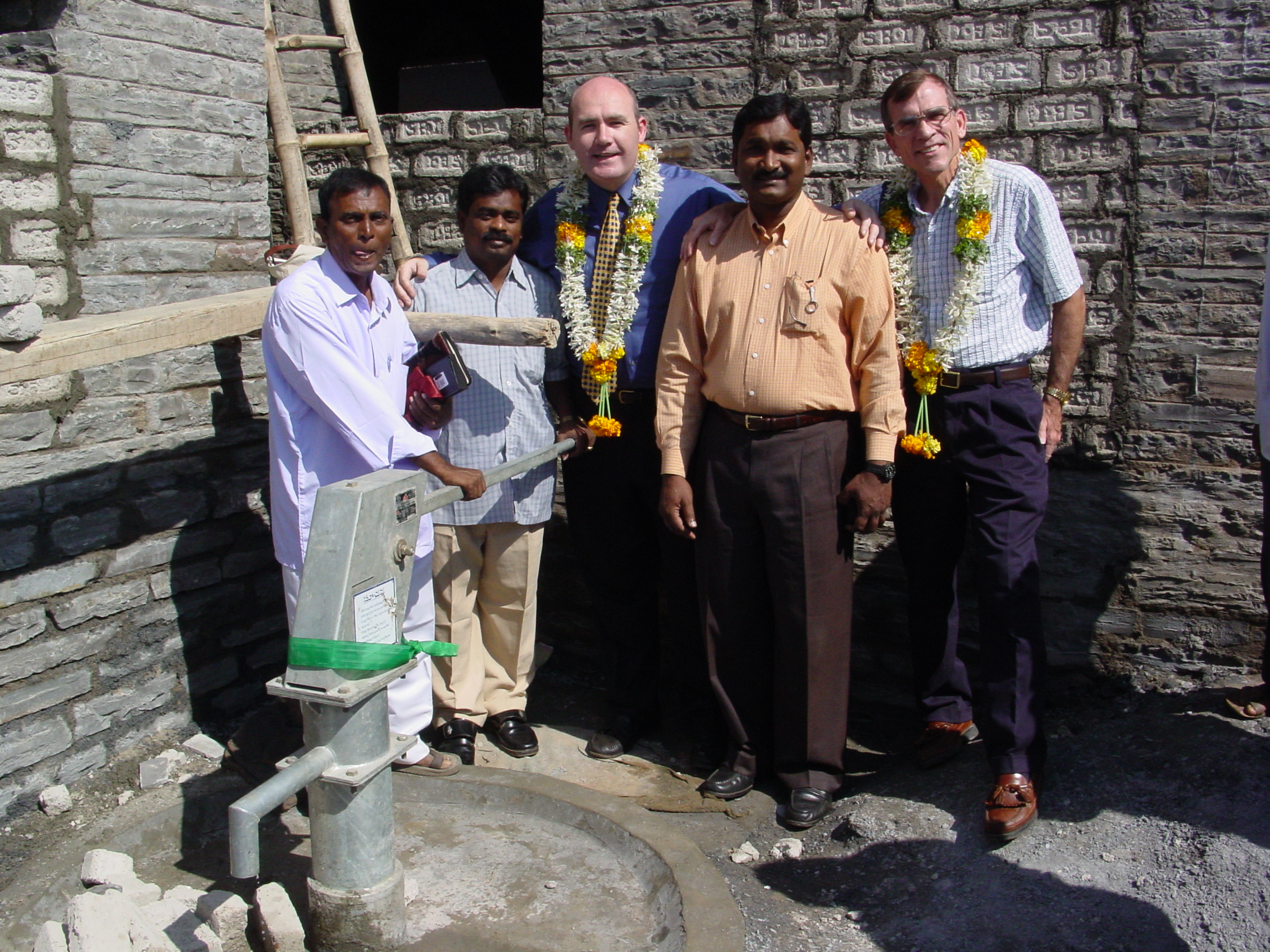 Building Churches and providing Fresh water