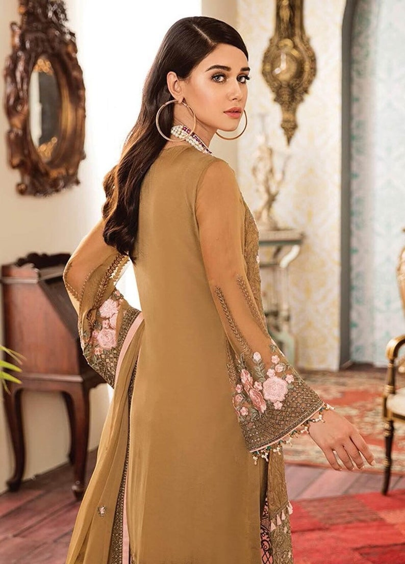 8e6474df5b Kuch Khas By Flossie Embroidered Chiffon Unstitched 3 Piece Suit FKK19-C4  06 BELLISIMO - Luxury Collection Punjabi Suit