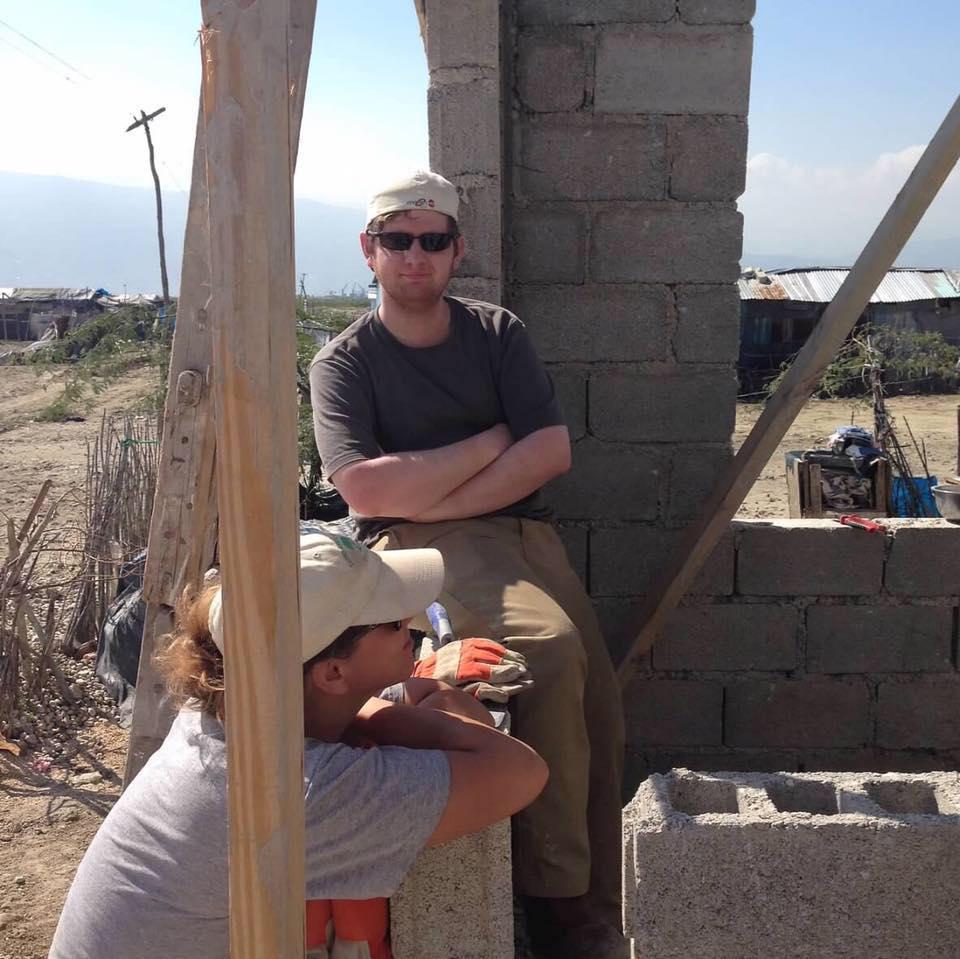 Kyle in haiti in 2017