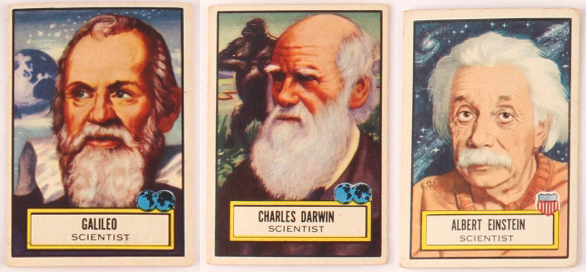Galileo, Darwin, Einstein - Freshman Seminar exploring their lives, times, and science.