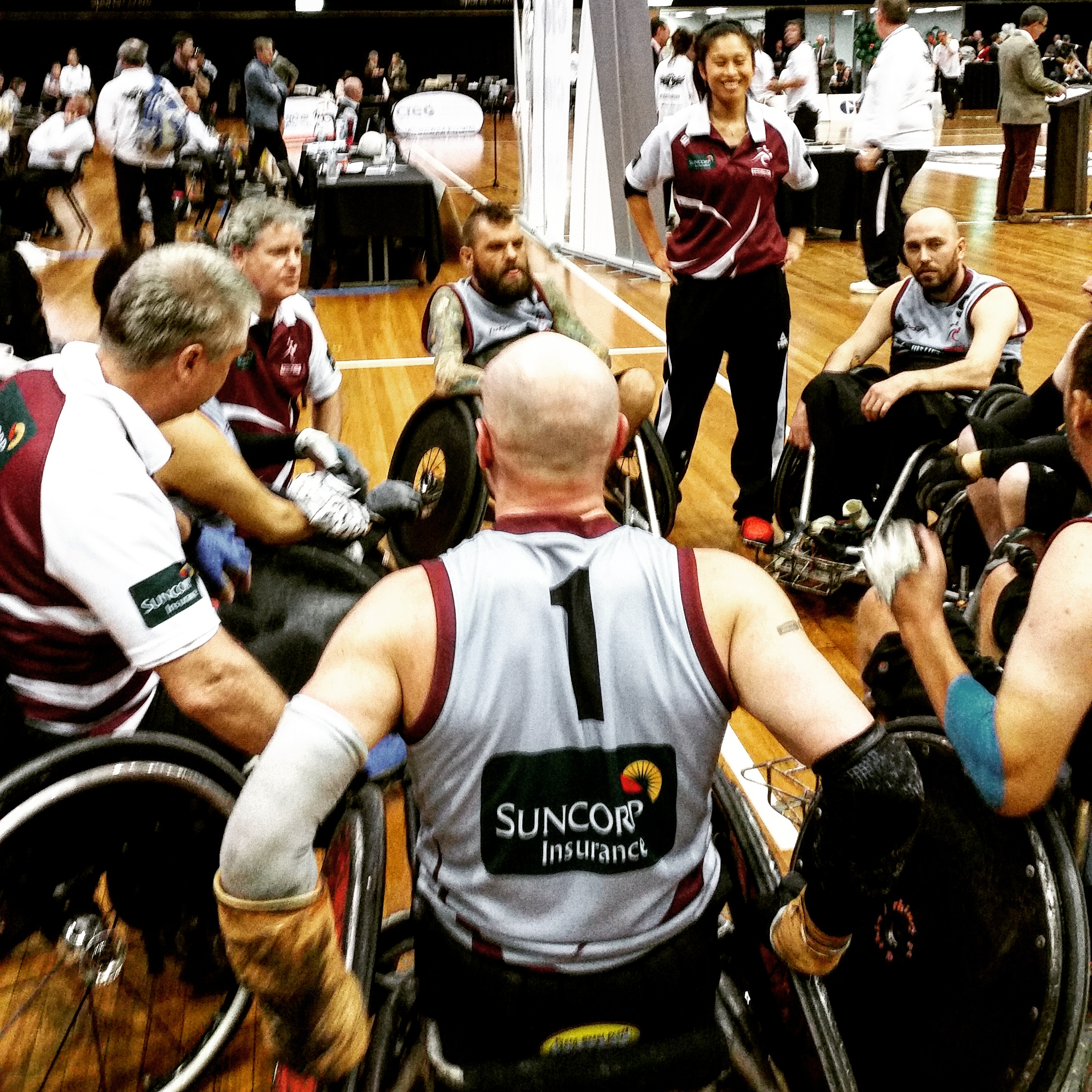 Wheelchair Rugby Nationals, 2015