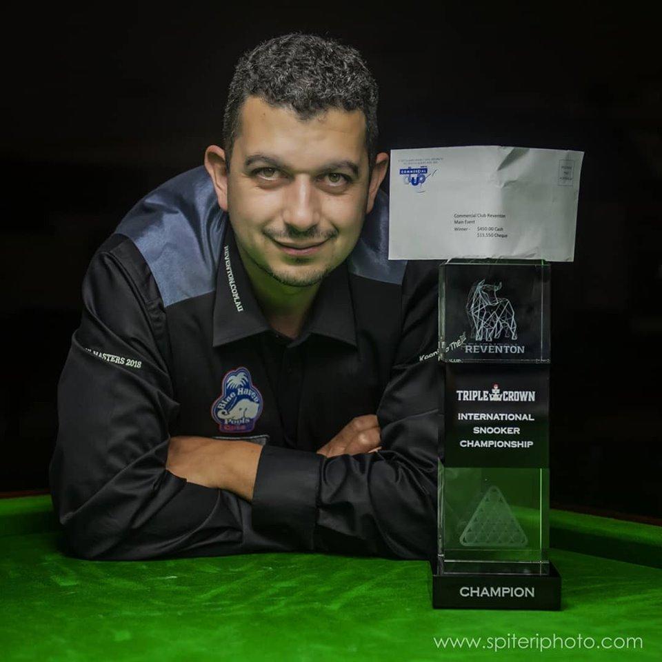 James Mifsud - 2019 Reventon International Winner