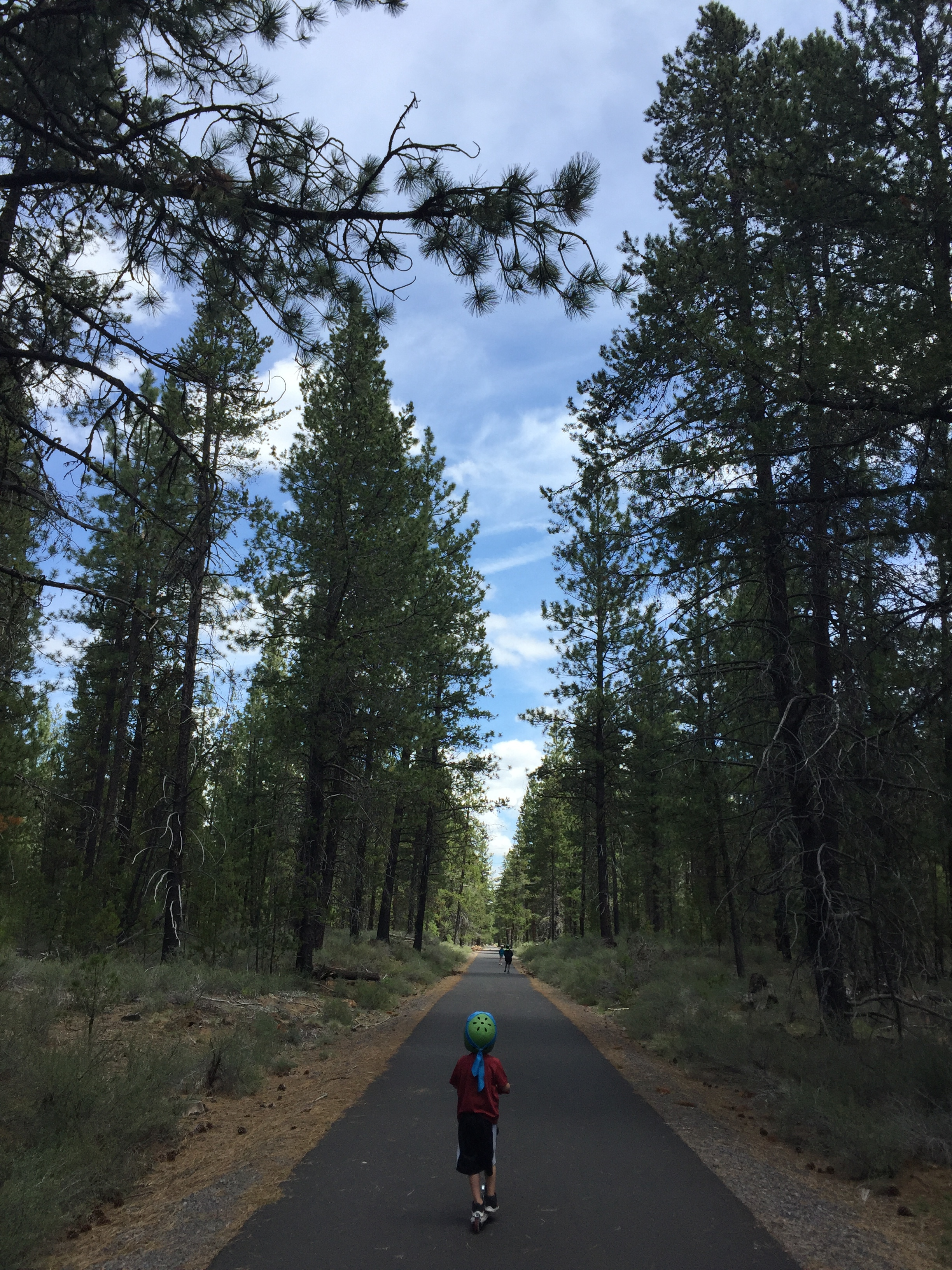 Sun Lava Trail, great for kids on wheels and strollers