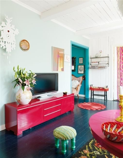 2. A fresh coat of paint on walls or change the trim colour from white to bright.