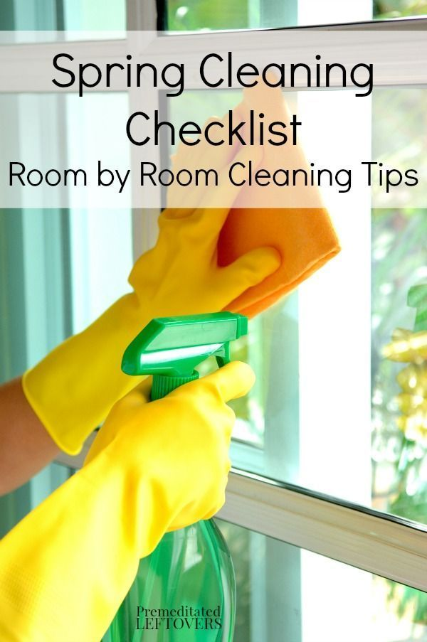 4. Spring clean   Get down and dirty and clean your home from top to bottom. It's hard work but you will be amazed at how great you will feel after. For a great printable room by room checklist and tips from premeditatedleftovers.com click  HERE