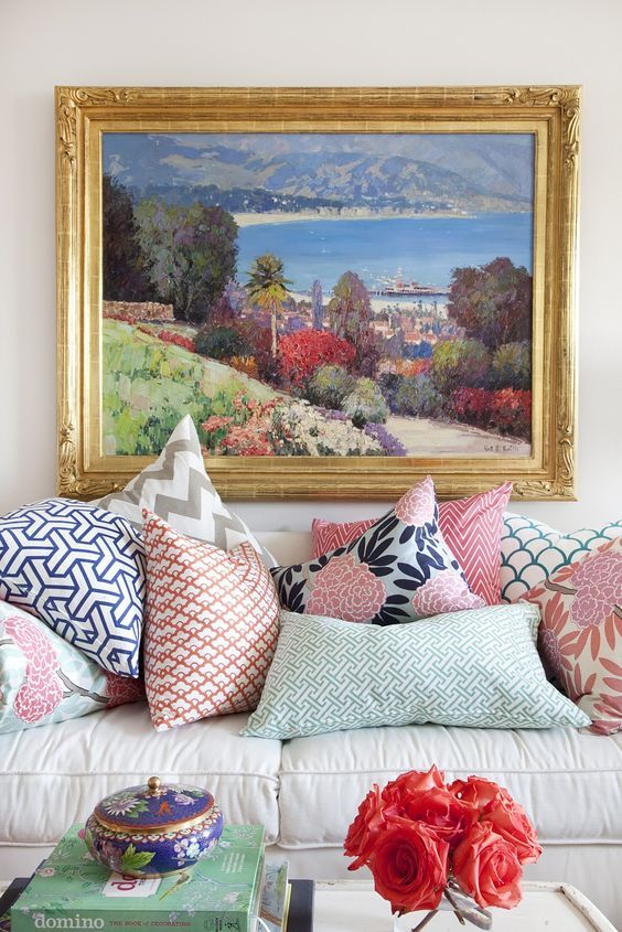 Caitlin Wilson also has some stunning fabrics and pillows that make it easy to mix and match. Check out the website  HERE     {CaitlinWilson}