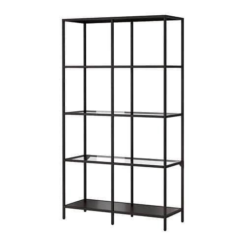 - IKEA Vittsjo Shelf Unit.Here it is in black.