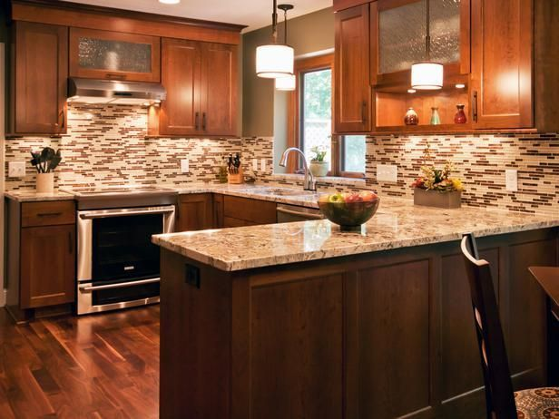 CHOOSING BACKSPLASH TILE FOR BUSY GRANITE COUNTERTOPS — Toni ...