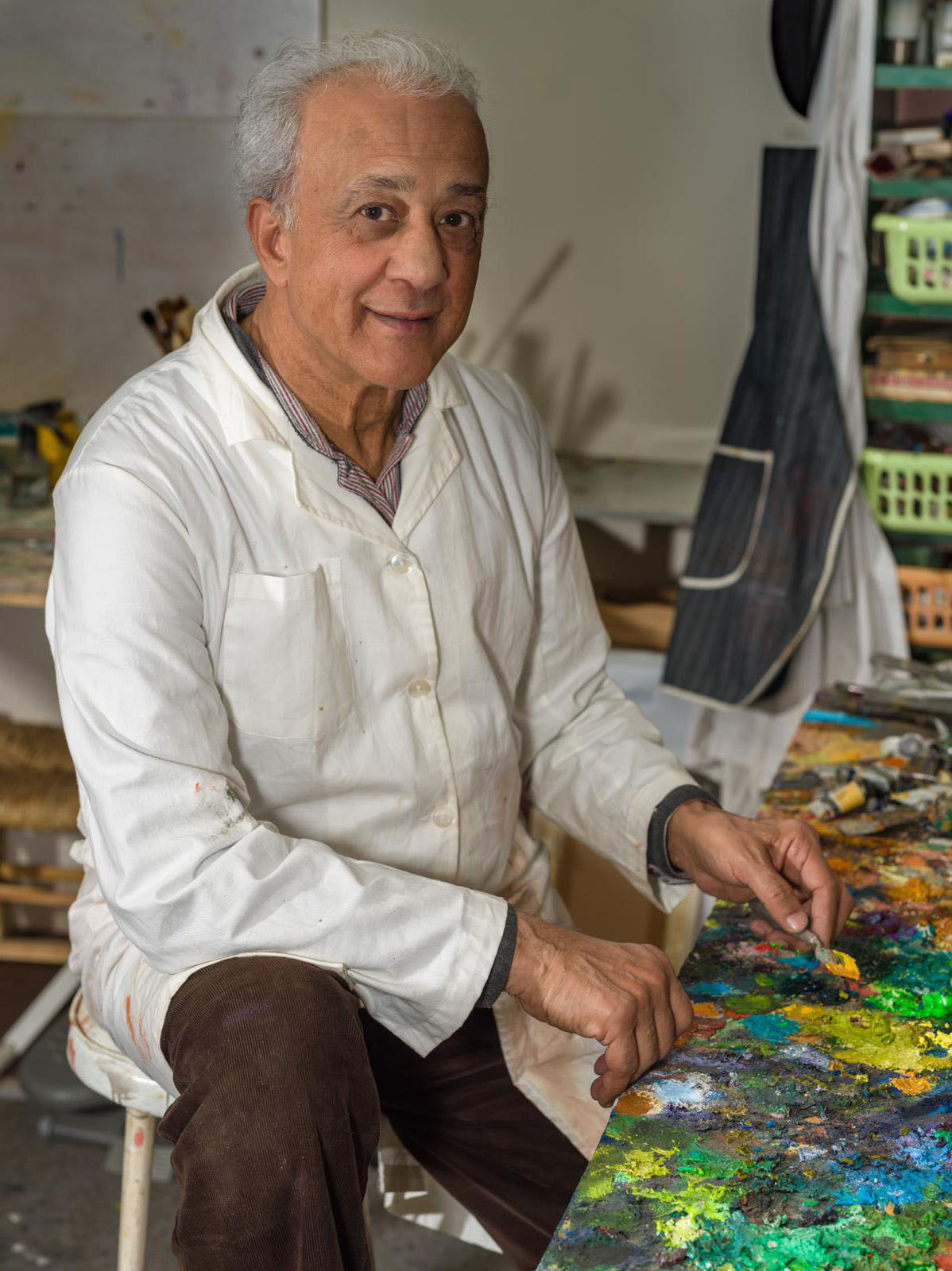 Nizar Daher - The most beautiful painting remains never drawn