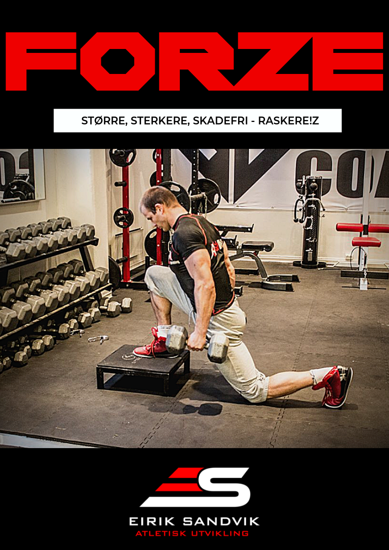 FORZE - Større, Sterkere, Skadefri - Raskere!3S-R er en komplett oppskrift på hvordan trene kroppen sterk, rask og eksplosiv.Bestill og start programmet I DAG!Alternativ 1: Kun treningsprogram - klikk her.Alternativ 2: Treningsprogram med personlig oppfølging i 12 uker, klikk her.