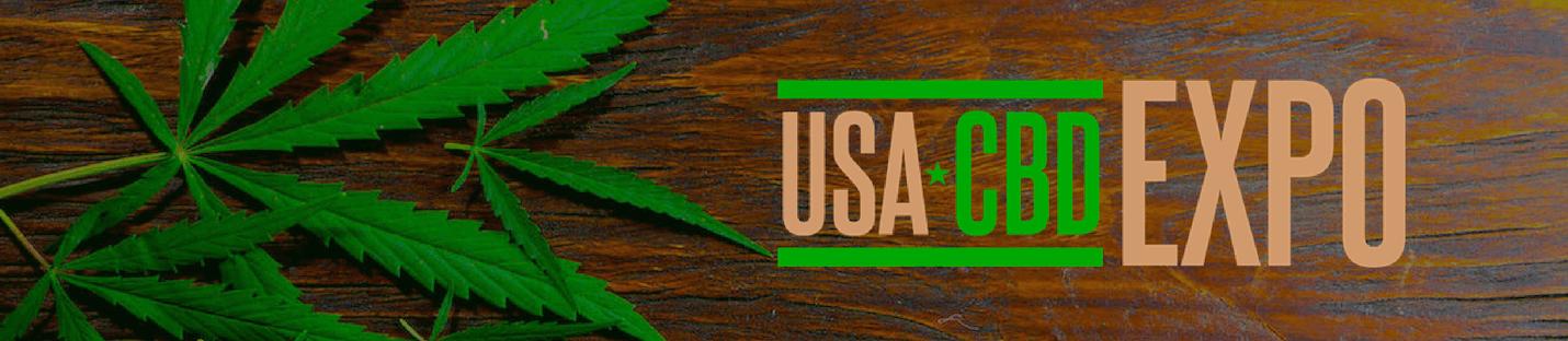 USA CBD Expo 2019 Wide Banner - Artwork Portfolio - Keegan Wozniak