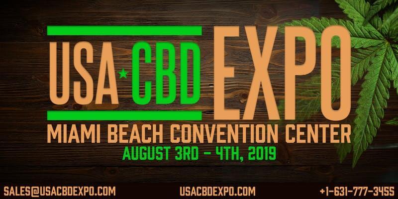 USA CBD Expo 2019 Graphic/Banner - Artwork Portfolio - Keegan Wozniak