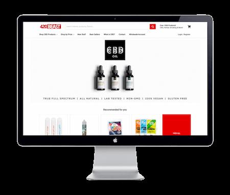 420 Beast - Website Portfolio - Keegan Wozniak