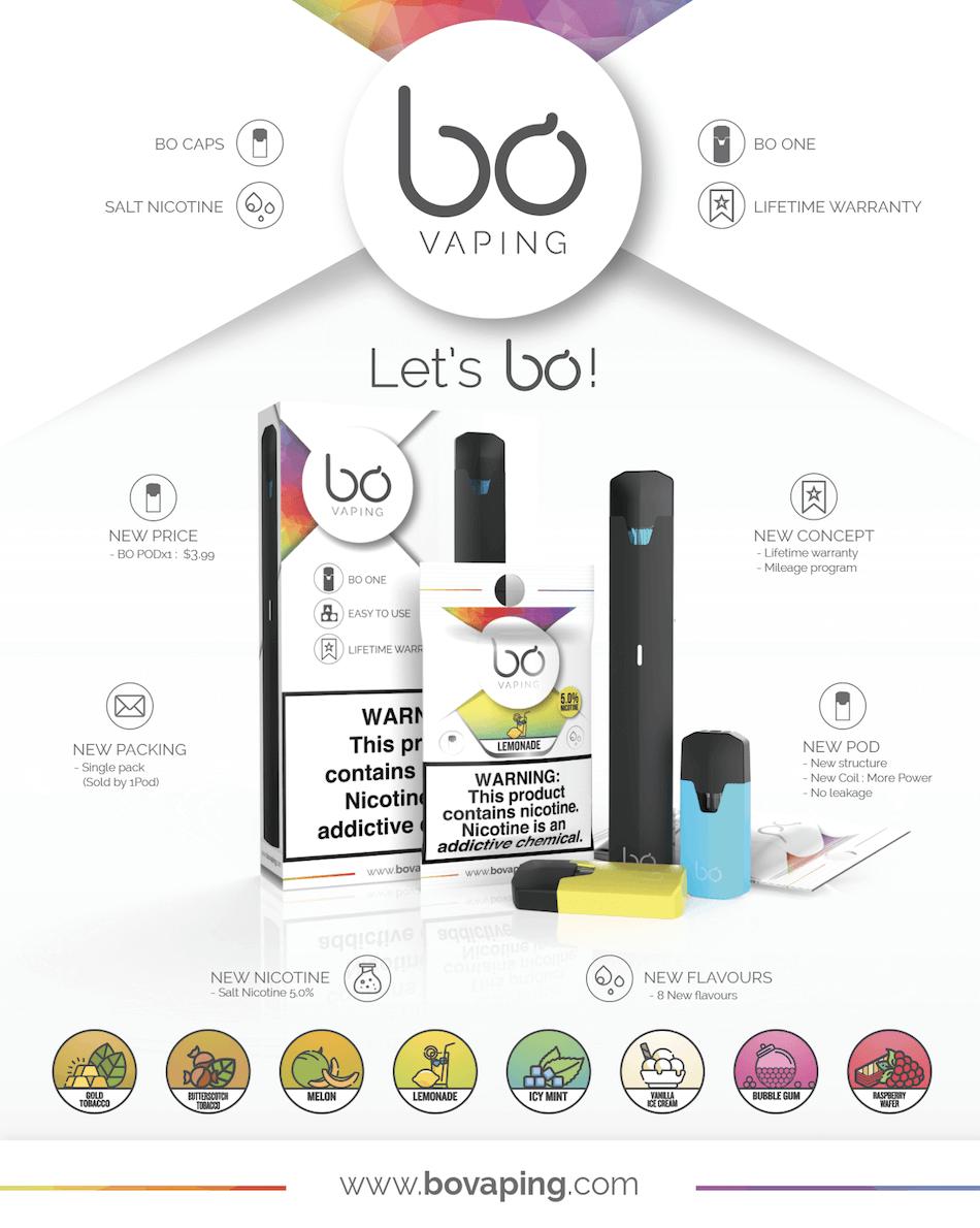 BO Vaping Magazine Ad - Artwork Portfolio - Keegan Wozniak