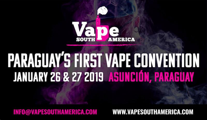 Vape South America 2019 Banner - Artwork Portfolio - Keegan Wozniak
