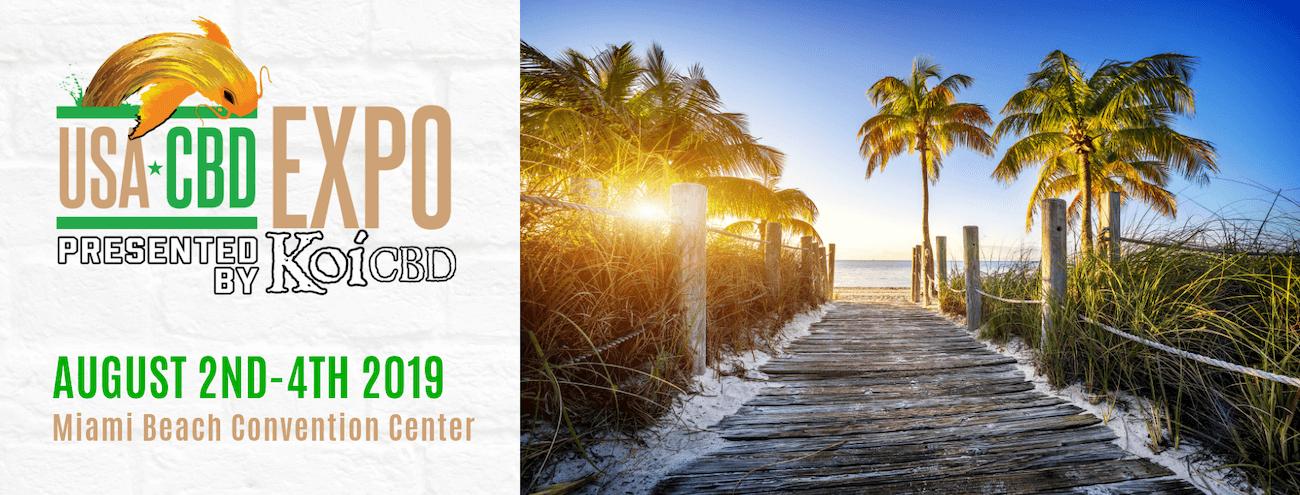 USA CBD Expo 2019 Banner - Artwork Portfolio - Keegan Wozniak