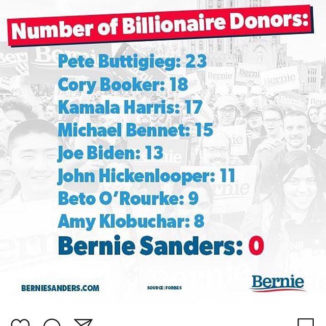 2015/16 hade både Trump och Sanders väldigt effektiva kampanjer på Instagram. Slagfärdiga och tydliga budskap som var enkla att förstå och beröras av. Ofta underfyndiga. Sanders vet vad som funkar i sina led. Här ett exempel@från hans pågående kampanj! #amerikaanalys #usaval #politiskakampanjer #uspolitics