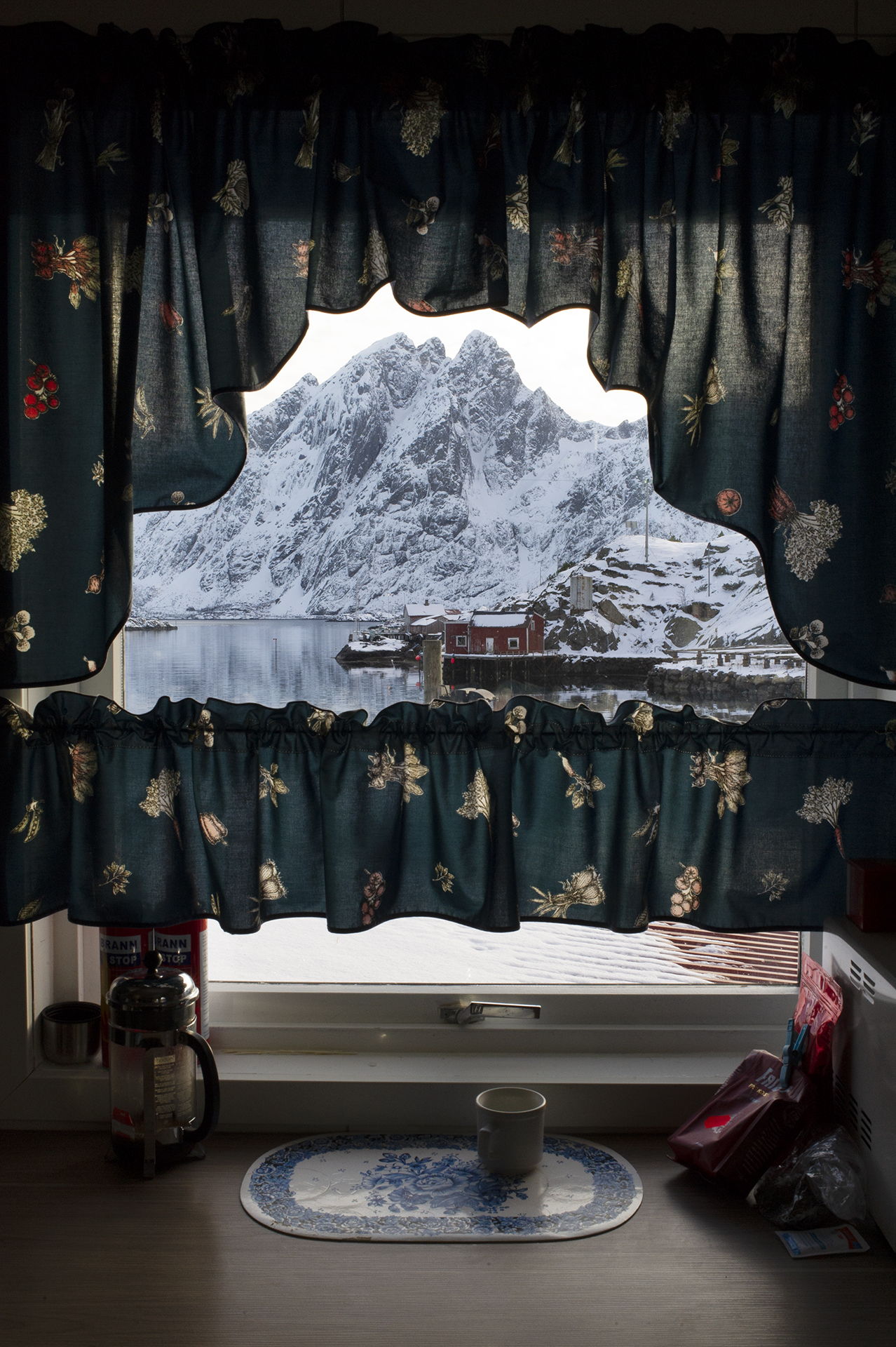 Sund. From the book The Lofoten Fishery.