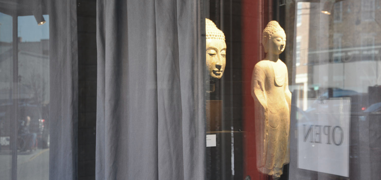 Tom Swope Gallery window
