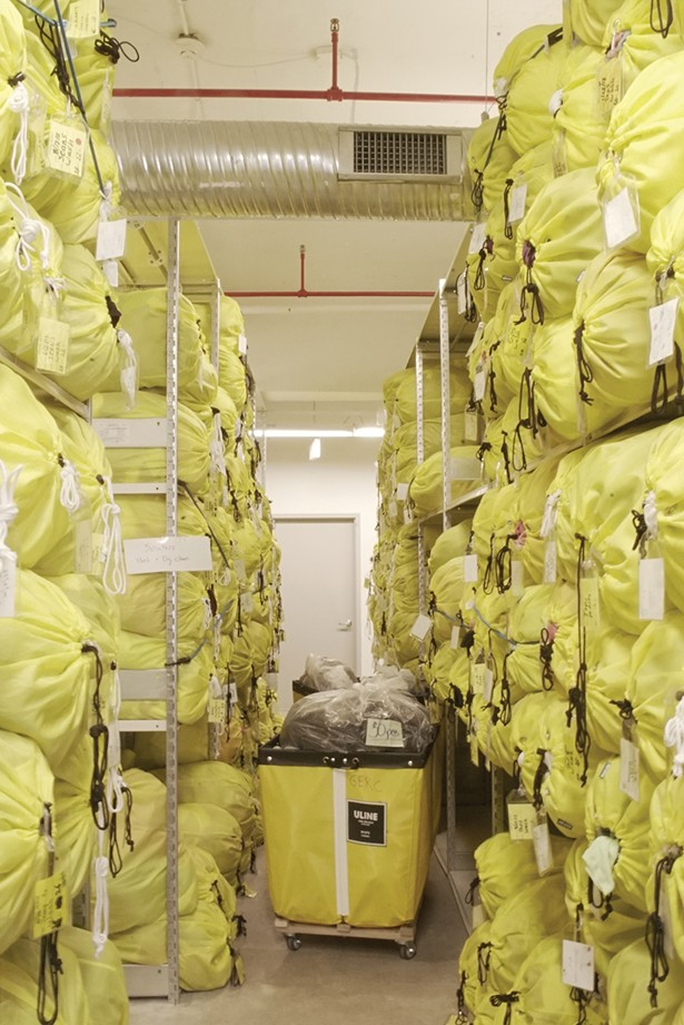Tiny factory has developed their own sorting process for returned items
