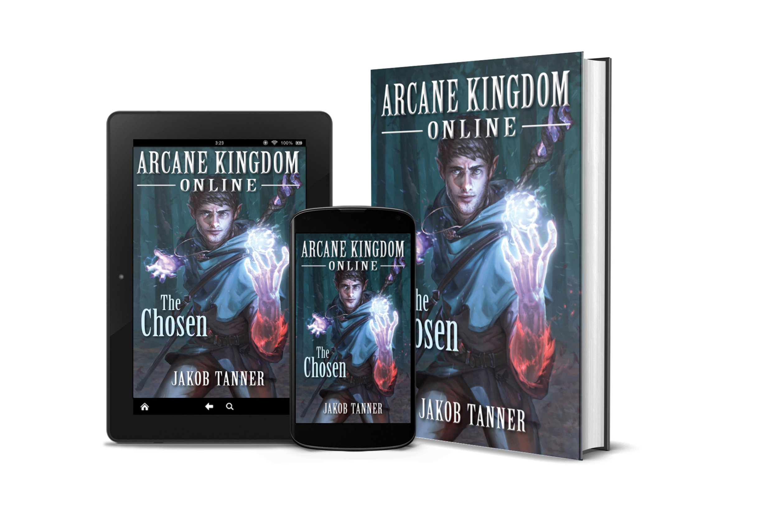 Welcome - Hello! I'm Jakob Tanner, author of the LitRPG series, Arcane Kingdom Online. My books combine my love of fantasy, anime, and video games into an action-packed page-turning experience.