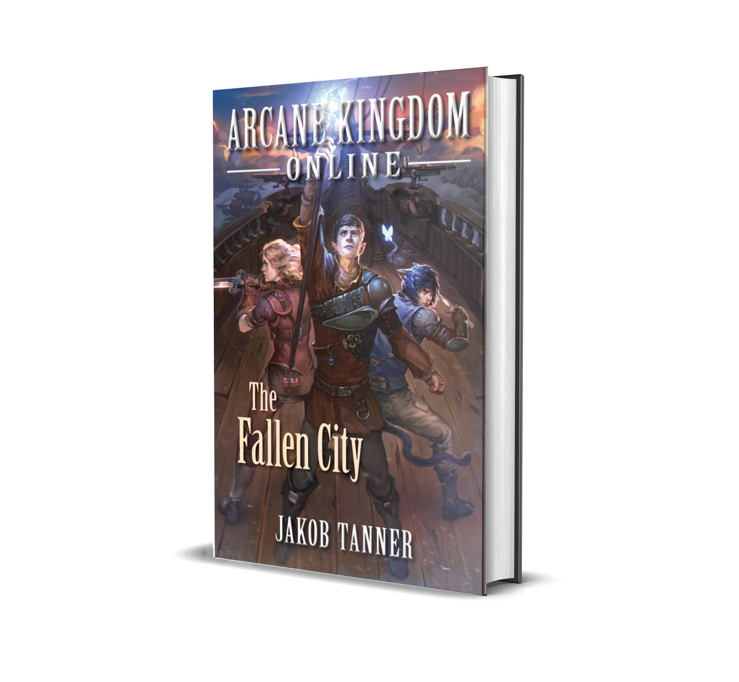 Arcane Kingdom Online: The Fallen City - The real world is gone…Now Clay's digital home is under threat.