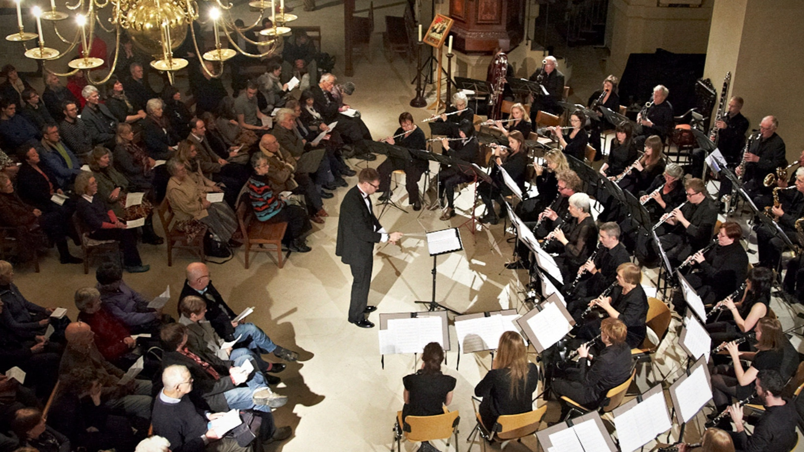 Shea with the Bloomsbury Woodwind Ensemble,  November 2013