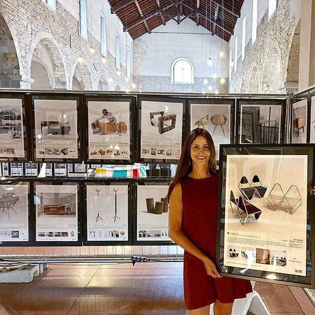 Stupenda #designexhibition 🇮🇹 . My project #armoniastructuredesign - Chair Collection exhibited in Como, Italy at MOOD - Museum of Outstanding Design, with the others A' Design Award Winners for all categories and from all over the world !!! . . . #ADesignAward #adesigncompetition #design #MOOD #museumofdesign #furniture #winnersexhibition #como #italy #adesignaward2019 #armoniacollection2019