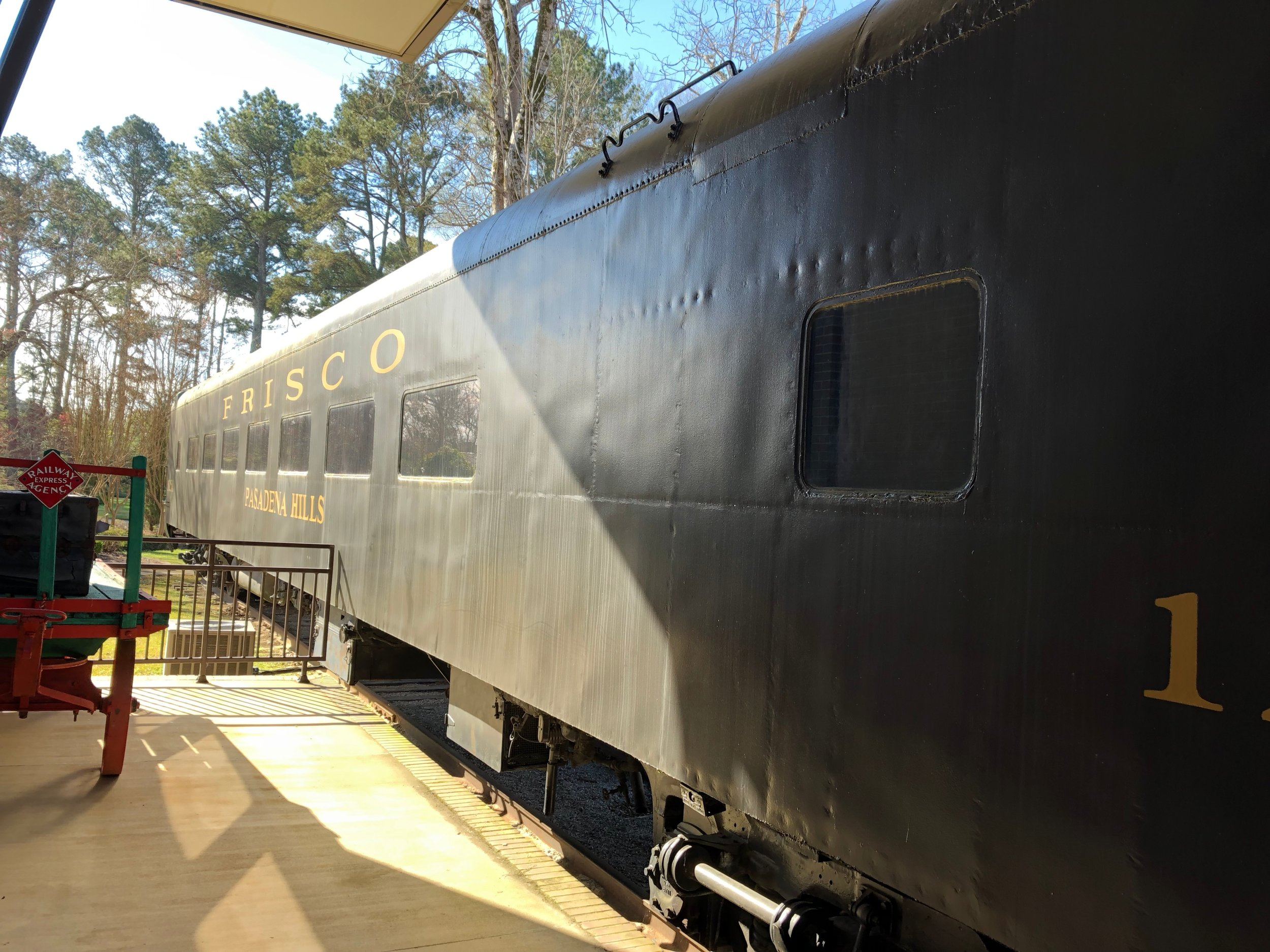 Frisco rail car