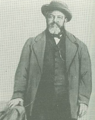 Henry Taylor, a known slave at Bellamy … Courtesy of Bellamy Mansion Museum of History and Design Arts