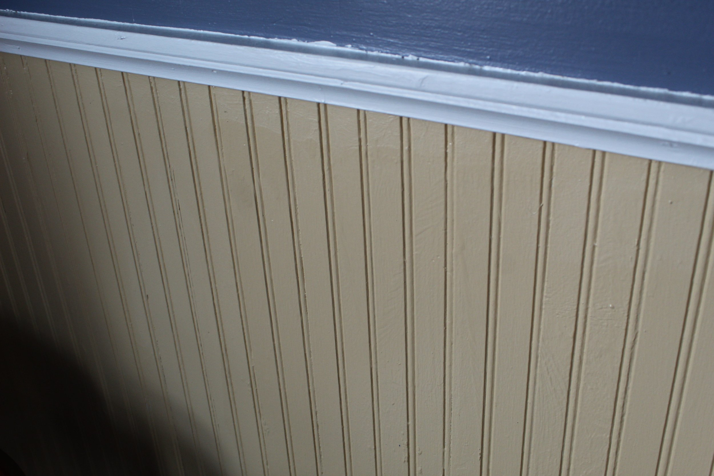 original wainscoting