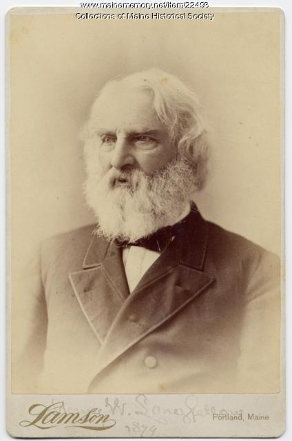 Henry Wadsworth Longfellow … Courtesy of the Maine Historical Society