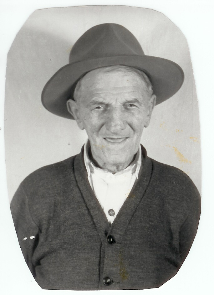 Turkey Pete in his later years … Courtesy of the Powell County Museum and Arts Foundation