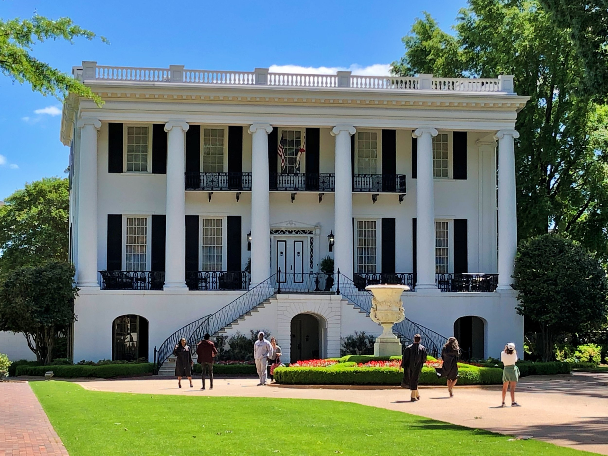 University of Alabama President's Mansion, 1841 … Photo by Caroline Pugh