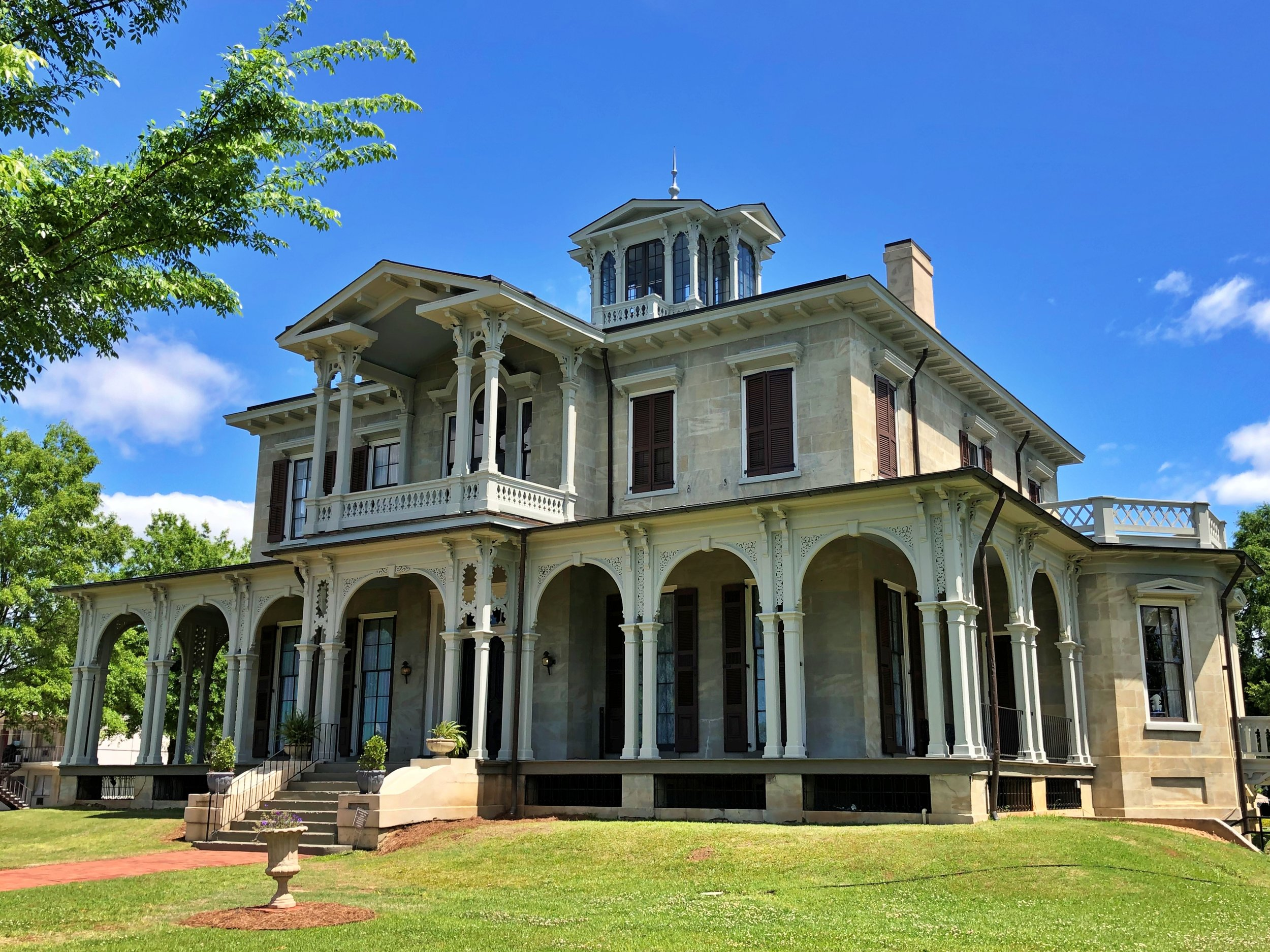 Jemison-Van de Graaf Mansion, 1852 … Photo by Caroline Pugh