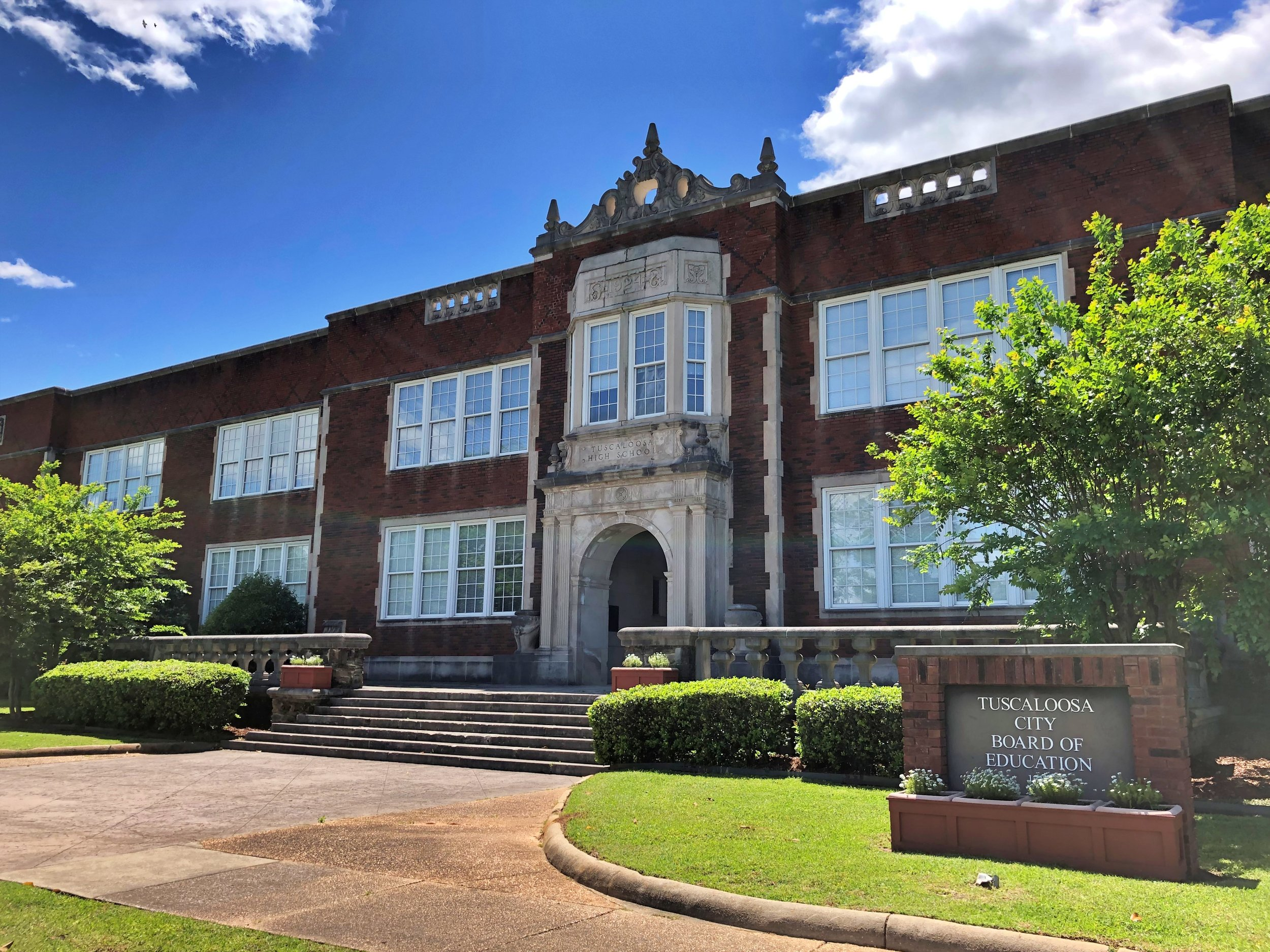 Old Tuscaloosa High School, 1924 … Photo by Caroline Pugh