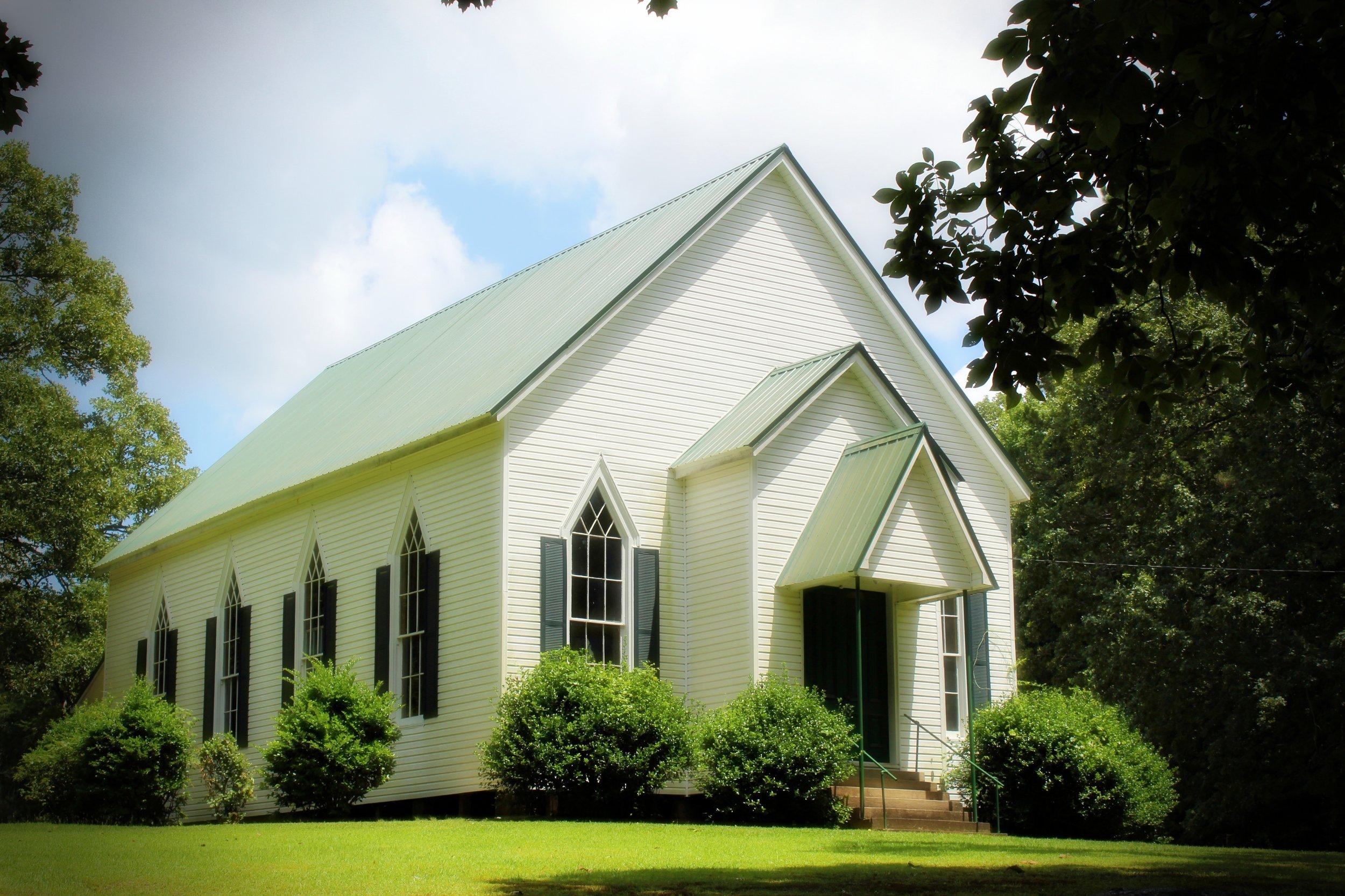 Bethel Methodist Church, Attala County, Miss., built post-Civil War