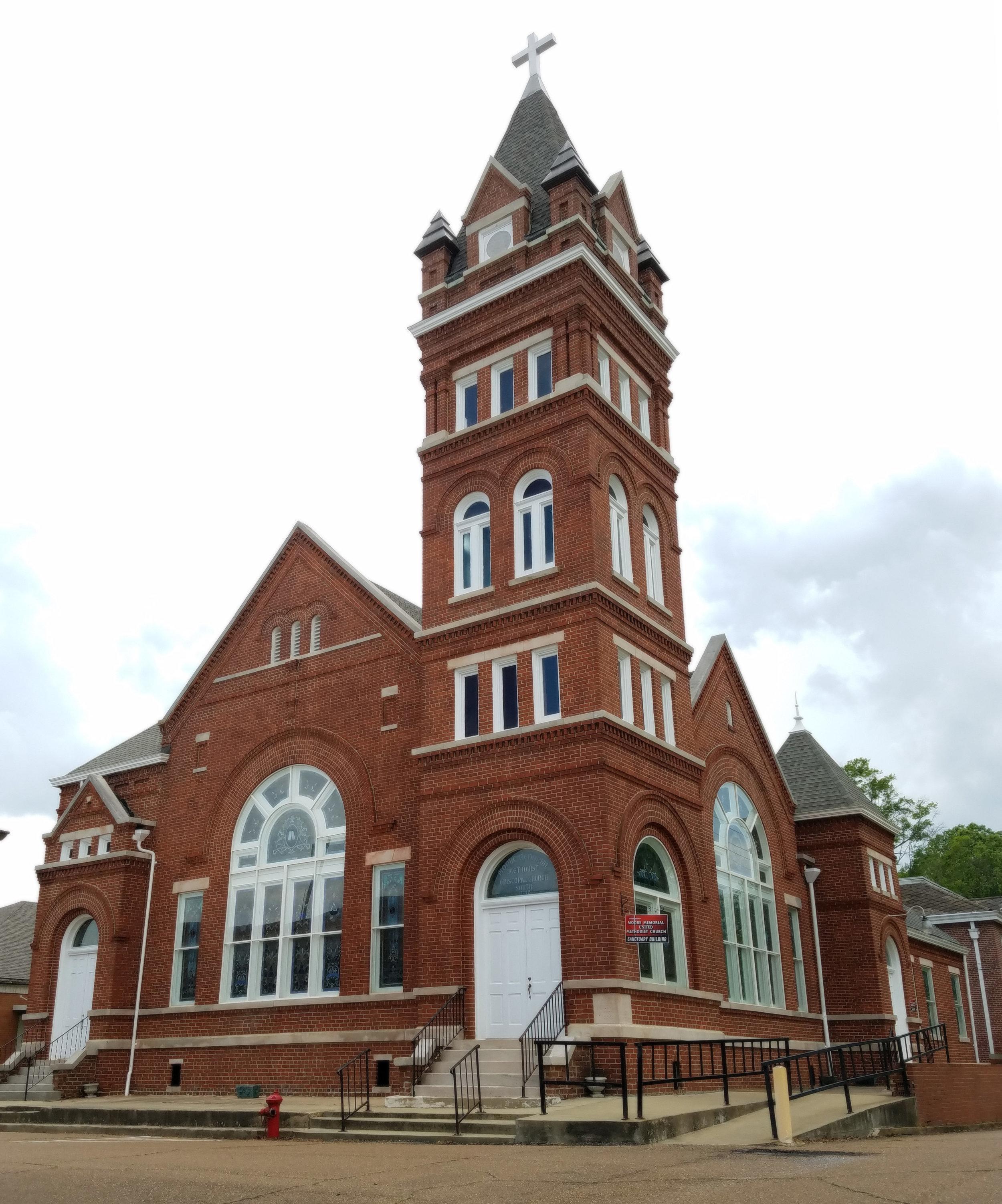 Moore Memorial United Methodist Church, Winona, Miss., 1898