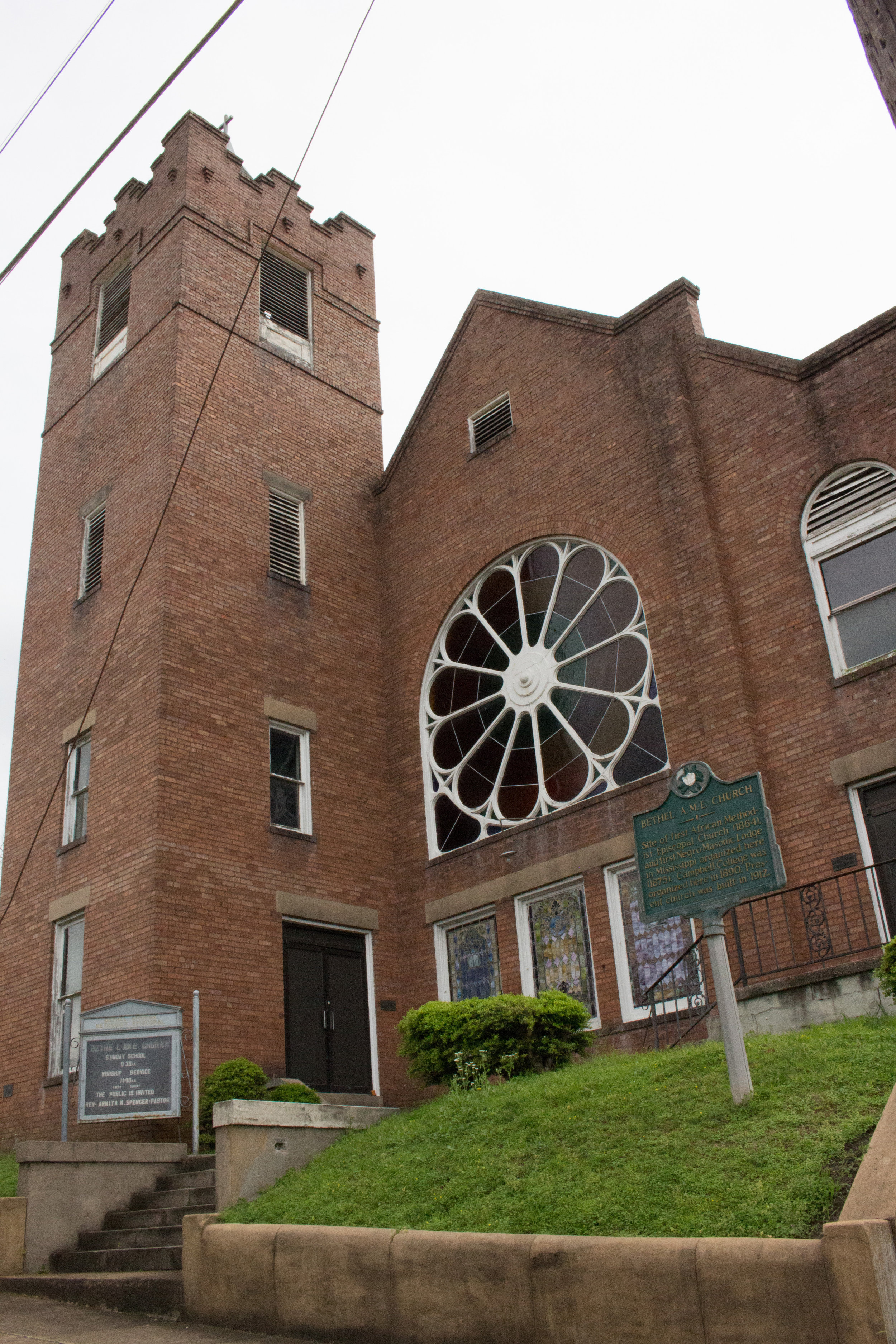 Bethel A.M.E. Church, Vicksburg, Miss., 1912